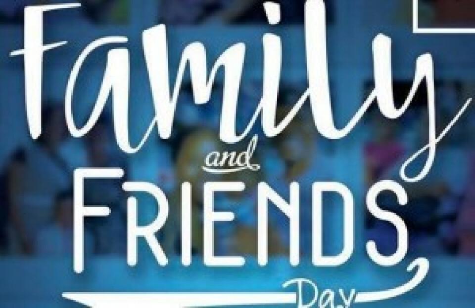 Family & Friends Sunday