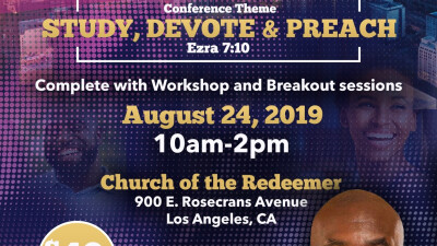 And the Bible Says... Preaching Conference
